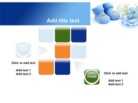 Little Blue Slippers PowerPoint Template Slide 16