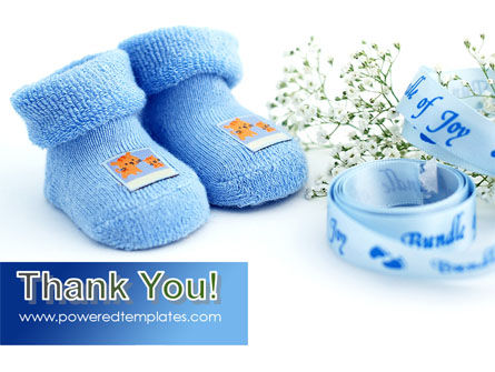 Little Blue Slippers PowerPoint Template Slide 20