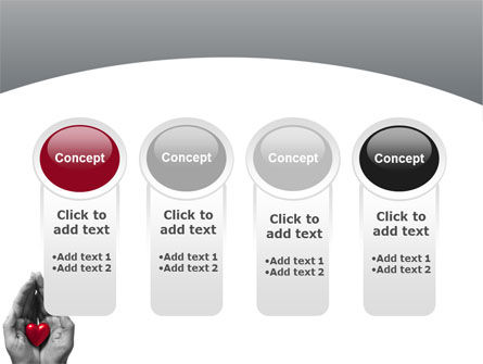 In Your Hands PowerPoint Template Slide 5