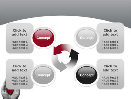 In Your Hands PowerPoint Template Slide 9