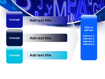 Screen Letters PowerPoint Template Slide 12