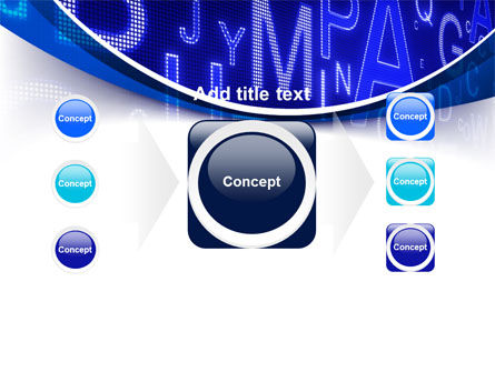 Screen Letters PowerPoint Template Slide 17