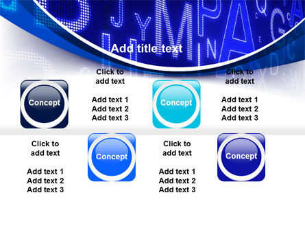 Screen Letters PowerPoint Template Slide 19
