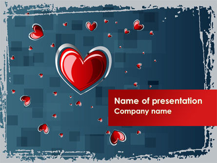 Valentine Theme PowerPoint Template