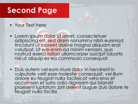 Valentine Theme PowerPoint Template Slide 2