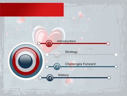 Valentine Theme PowerPoint Template Slide 3