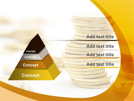 Coin Stack PowerPoint Template Slide 12