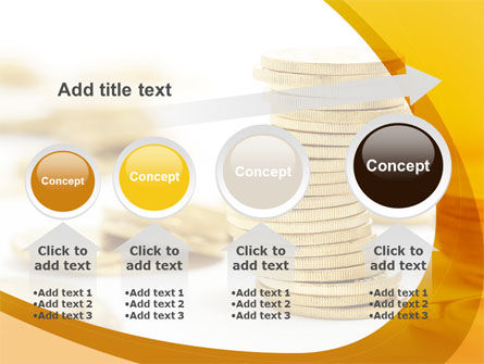 Coin Stack PowerPoint Template Slide 13