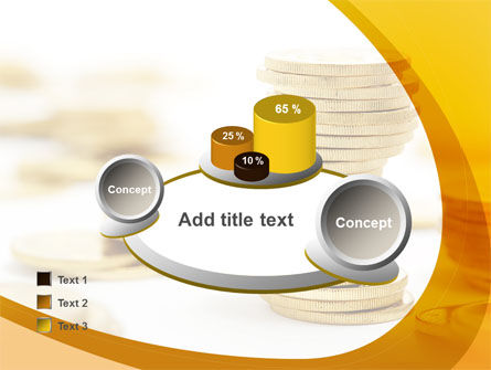 Coin Stack PowerPoint Template Slide 16