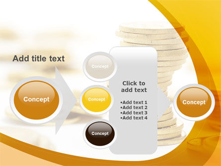 Coin Stack PowerPoint Template Slide 17
