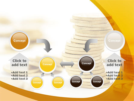 Coin Stack PowerPoint Template Slide 19