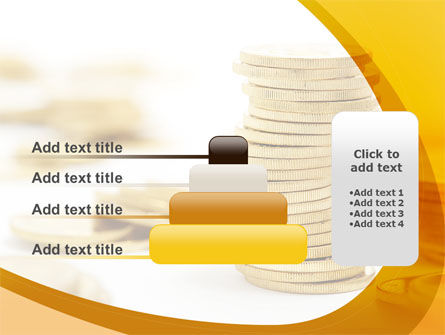 Coin Stack PowerPoint Template Slide 8