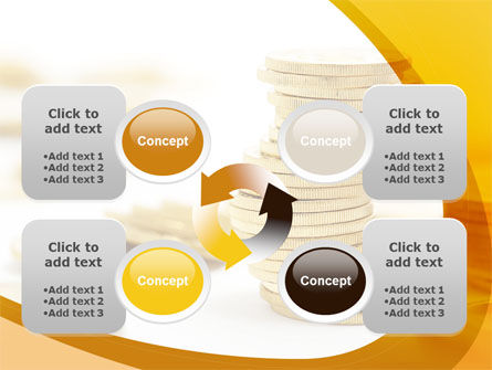 Coin Stack PowerPoint Template Slide 9