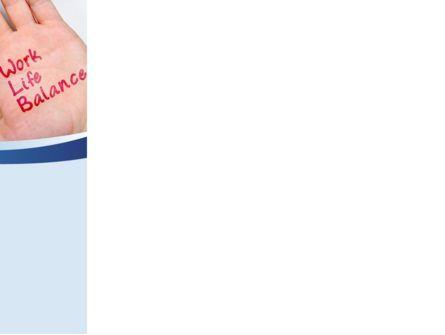 Work-Life Balance PowerPoint Template, Slide 3, 08411, Consulting — PoweredTemplate.com