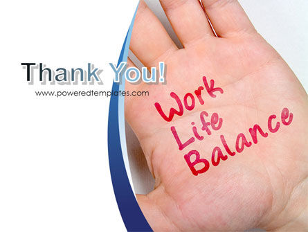 Work-Life Balance PowerPoint Template Slide 20