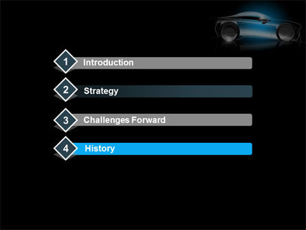 Concept Car Modeling PowerPoint Template, Slide 3, 08415, Cars and Transportation — PoweredTemplate.com