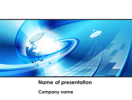Telecommunication: Business Companionship PowerPoint Template #08417
