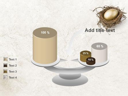 Golden Egg PowerPoint Template Slide 10