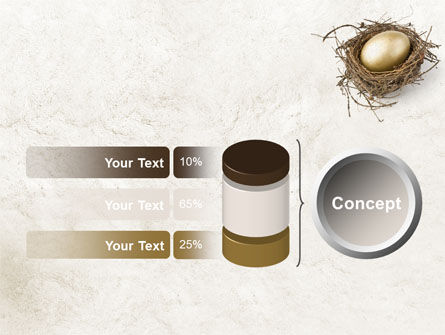 Golden Egg PowerPoint Template Slide 11