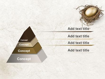 Golden Egg PowerPoint Template Slide 12