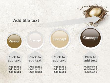 Golden Egg PowerPoint Template Slide 13