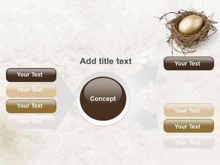 Golden Egg PowerPoint Template Slide 14