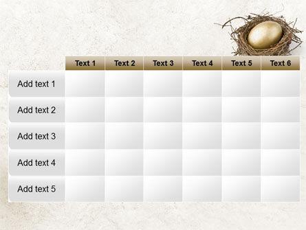 Golden Egg PowerPoint Template Slide 15
