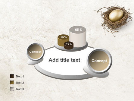 Golden Egg PowerPoint Template Slide 16
