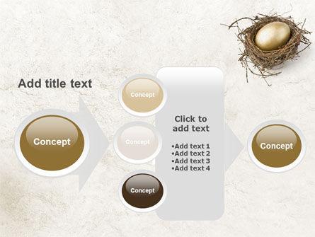 Golden Egg PowerPoint Template Slide 17