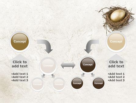 Golden Egg PowerPoint Template Slide 19