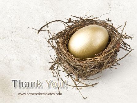 Golden Egg PowerPoint Template Slide 20
