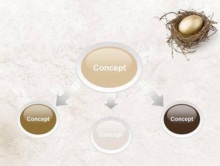 Golden Egg PowerPoint Template Slide 4