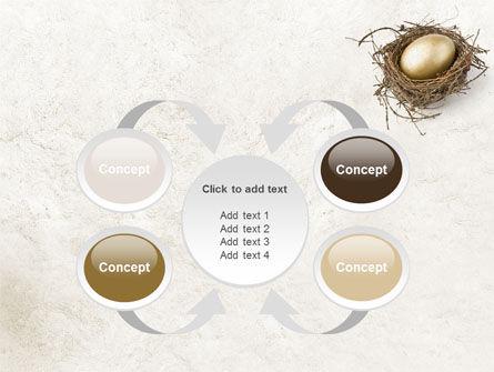 Golden Egg PowerPoint Template Slide 6