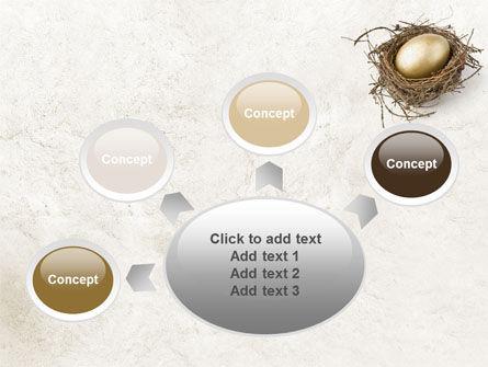 Golden Egg PowerPoint Template Slide 7