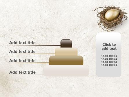 Golden Egg PowerPoint Template Slide 8