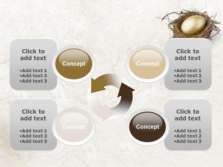 Golden Egg PowerPoint Template Slide 9