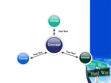 Easy or Hard Way PowerPoint Template Slide 14