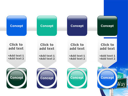 Easy or Hard Way PowerPoint Template Slide 18