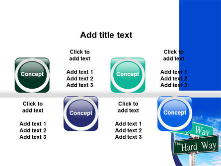 Easy or Hard Way PowerPoint Template Slide 19