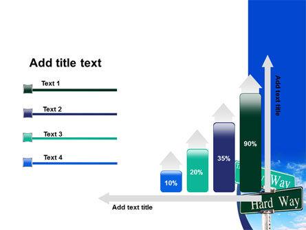 Easy or Hard Way PowerPoint Template Slide 8