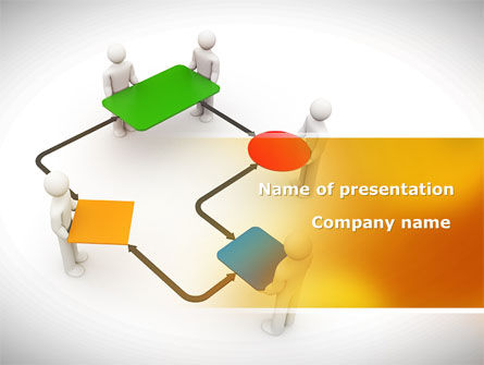 Block Diagram PowerPoint Template, 08422, Consulting — PoweredTemplate.com