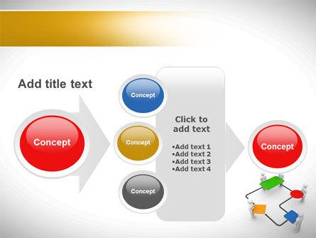 Block Diagram PowerPoint Template Slide 17