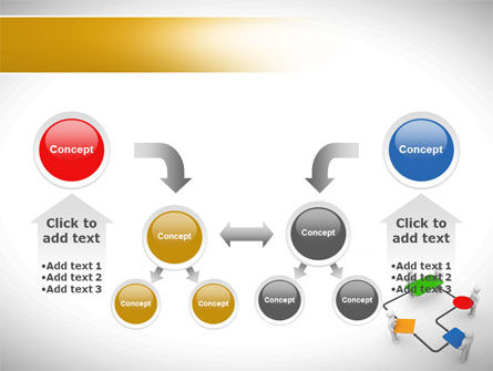 block diagram powerpoint template, slide 19, 08422, consulting —  poweredtemplate com