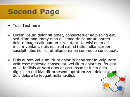 Block Diagram PowerPoint Template, Slide 2, 08422, Consulting — PoweredTemplate.com
