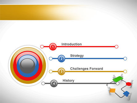 Block Diagram PowerPoint Template Slide 3