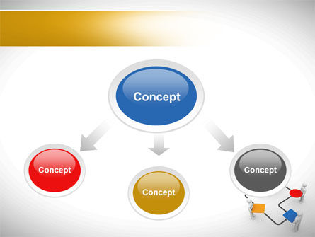 Block Diagram PowerPoint Template, Slide 4, 08422, Consulting — PoweredTemplate.com