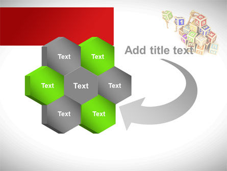 Toy Blocks PowerPoint Template Slide 11