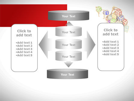 Toy Blocks PowerPoint Template Slide 13