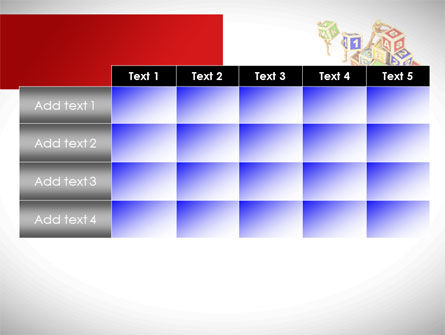 Toy Blocks PowerPoint Template Slide 15