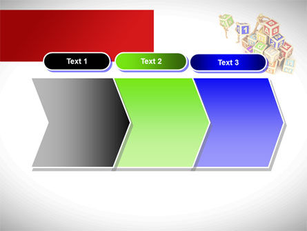 Toy Blocks PowerPoint Template Slide 16
